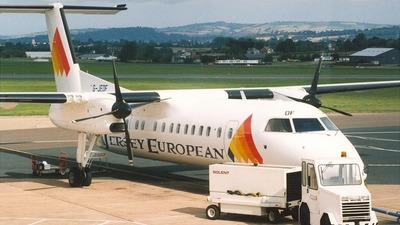 G-JEDF - Bombardier Dash 8-311 - Jersey European Airways