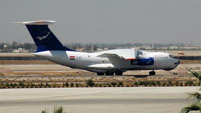 YK-ATD - Ilyushin IL-76TD - Syrianair - Syrian Arab Airlines