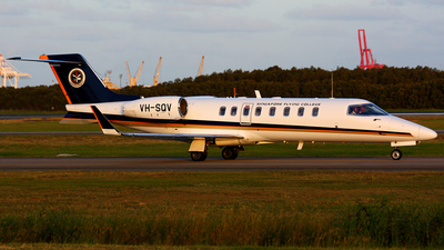 VH-SQV - Bombardier Learjet 45 - Singapore Flying College