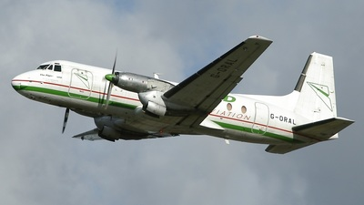 G-ORAL - Hawker Siddeley HS-748 Series 2A - Emerald Airways