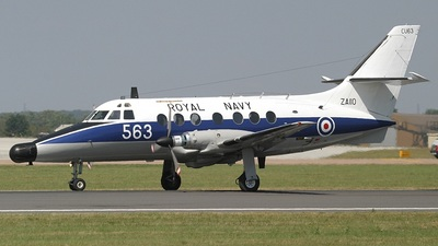 ZA110 - British Aerospace Jetstream T.2 - United Kingdom - Royal Navy