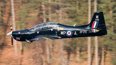 ZF170 - Short Tucano T.1 - United Kingdom - Royal Air Force (RAF)