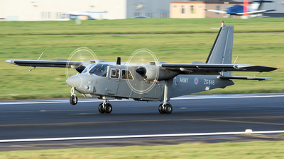 ZG846 - Britten-Norman BN-2 Islander - United Kingdom - Army Air Corps