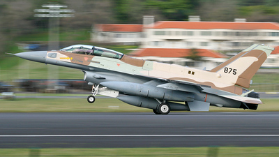 875 - Lockheed Martin F-16I Sufa - Israel - Air Force