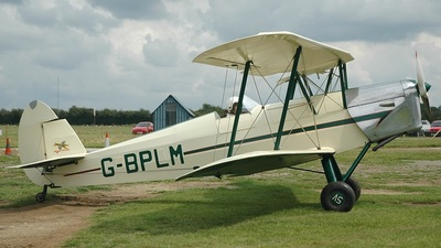 G-BPLM - SNCAN/Stampe SV.4C - Private