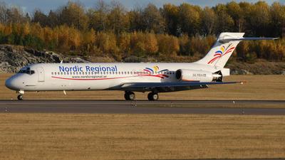 SE-RBA - McDonnell Douglas MD-87 - Nordic Regional