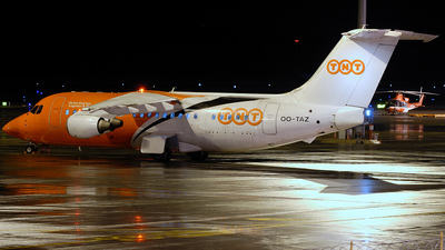 OO-TAZ - British Aerospace BAe 146-200(QC) - TNT Airways