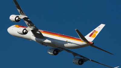 F-WWCS - Airbus A340-642 - Iberia