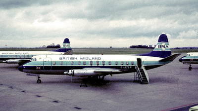 G-AZLR - Vickers Viscount 813 - British Midland