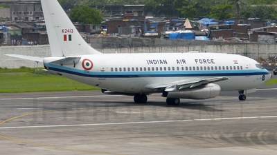 K2413 - Boeing 737-2A8(Adv) - India - Air Force
