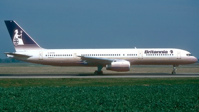 G-BYAI - Boeing 757-204 - Britannia Airways