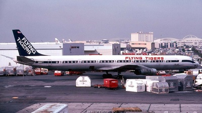 N861FT - Douglas DC-8-61(CF) - Flying Tigers