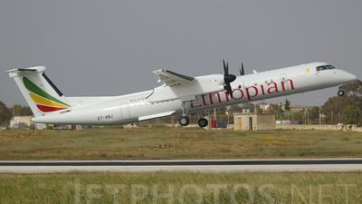 A picture of ETANJ - De Havilland Canada Dash 8400 - Ethiopian Airlines - © Buzu