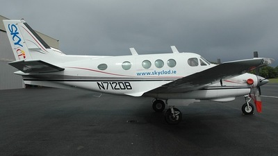 N712DB - Beechcraft C90 King Air - Private