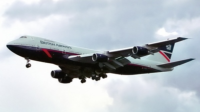 G-BDXP - Boeing 747-236B(M) - British Airways
