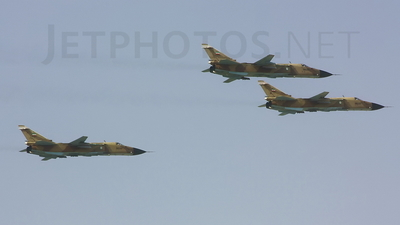 3-6856 - Sukhoi Su-24M Fencer - Iran - Air Force