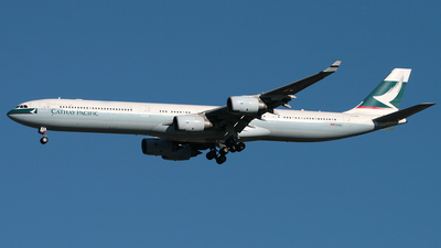 B-HQA - Airbus A340-642 - Cathay Pacific Airways