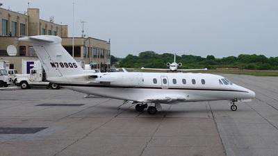 N789QS - Cessna 650 Citation VII - NetJets Aviation
