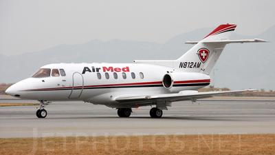 N812AM - British Aerospace BAe 125-800A - Air Med