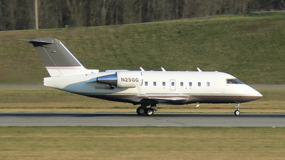 N25GG - Bombardier CL-600-2B16 Challenger 604 - Private