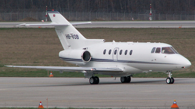 HB-VOB - Raytheon Hawker 800XP - MSC Aviation