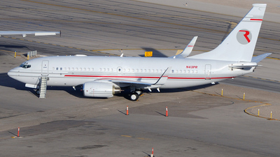 N43PR - Boeing 737-75V(BBJ) - Private