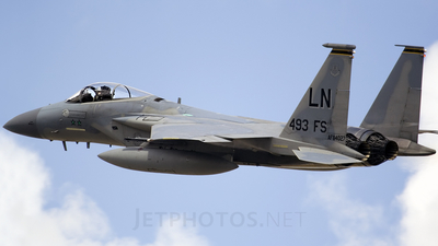 84-0027 - McDonnell Douglas F-15C Eagle - United States - US Air Force (USAF)