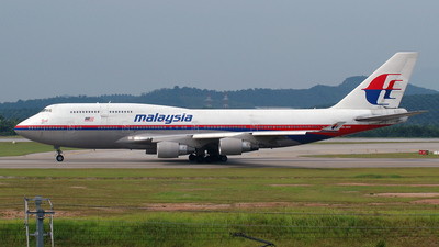 9M-MPA - Boeing 747-4H6 - Malaysia Airlines