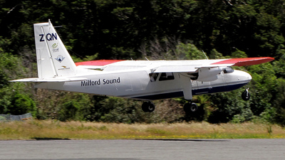 ZK-ZQN - Britten-Norman BN-2B-26 Islander - Milford Sound Flightseeing