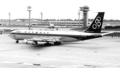 SX-DBE - Boeing 707-384B - Olympic Airways