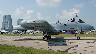 80-0222 - Fairchild A-10A Thunderbolt II - United States - US Air Force (USAF)