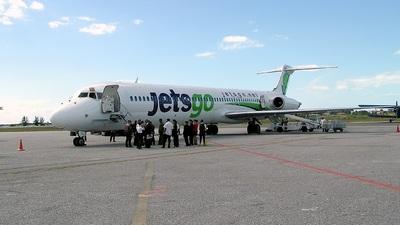 C-FKLO - McDonnell Douglas MD-83 - Jetsgo