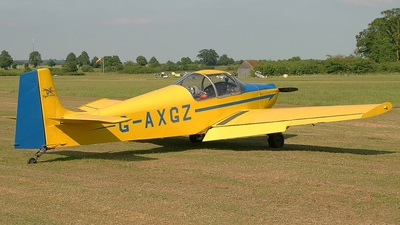 A picture of GAXGZ - Druine D.62B Condor - [RAE/643] - © S. Thomas