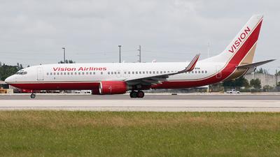 N781VA - Boeing 737-8Q8 - Vision Airlines