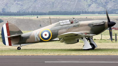 ZK-TPK - Hawker Hurricane Mk.IIA - Private