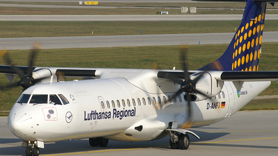 D-ANFJ - ATR 72-212A(500) - Lufthansa Regional (Contact Air)