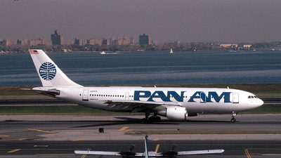 N210PA - Airbus A300B4-203 - Pan Am
