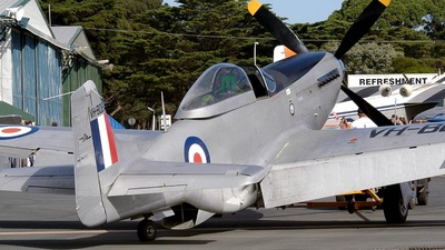 VH-BOB - CAC CA-18 Mk.21 Mustang - Private