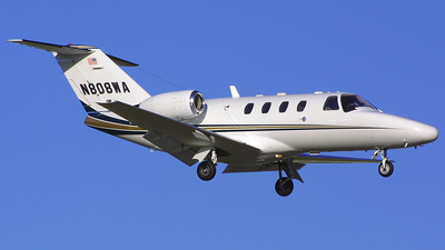 N808WA - Cessna 525 CitationJet 1 - Private