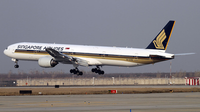 9V-SYB - Boeing 777-312 - Singapore Airlines