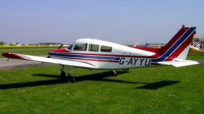 A picture of GAYYU - Beech C23 Sundowner 180 - [M1353] - © Dave Marshall