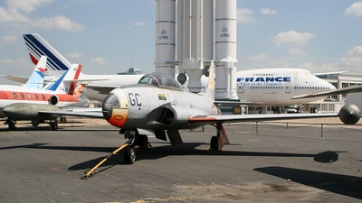 35055 - Lockheed T-33 Shooting Star - France - Air Force