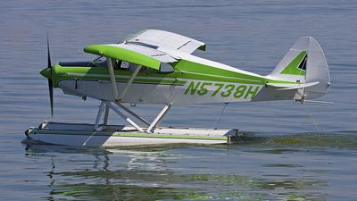 A picture of N5738H - Piper PA16 Clipper - [16350] - © Ian Tate