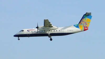 G-BRYV - Bombardier Dash 8-Q311 - British Airways (CityFlyer Express)