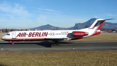 D-AGPD - Fokker 100 - Air Berlin (Germania)