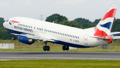 G-GBTB - Boeing 737-436 - British Airways
