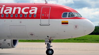 N599AV - Airbus A320-214 - Avianca