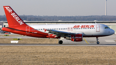 D-ABGF - Airbus A319-112 - Air Berlin