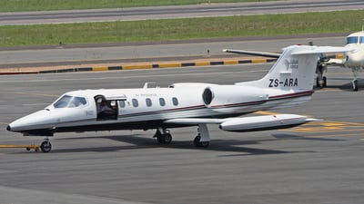 ZS-ARA - Gates Learjet 35A - Private