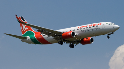 5Y-KYB - Boeing 737-8AL - Kenya Airways